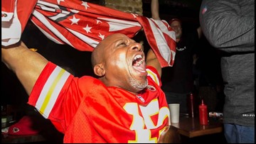 Chiefs, 49ers fans celebrate Super Bowl across downtown Austin