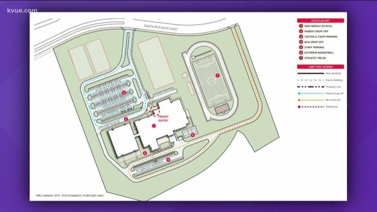 Liberty Hill ISD unveils plans for new middle school