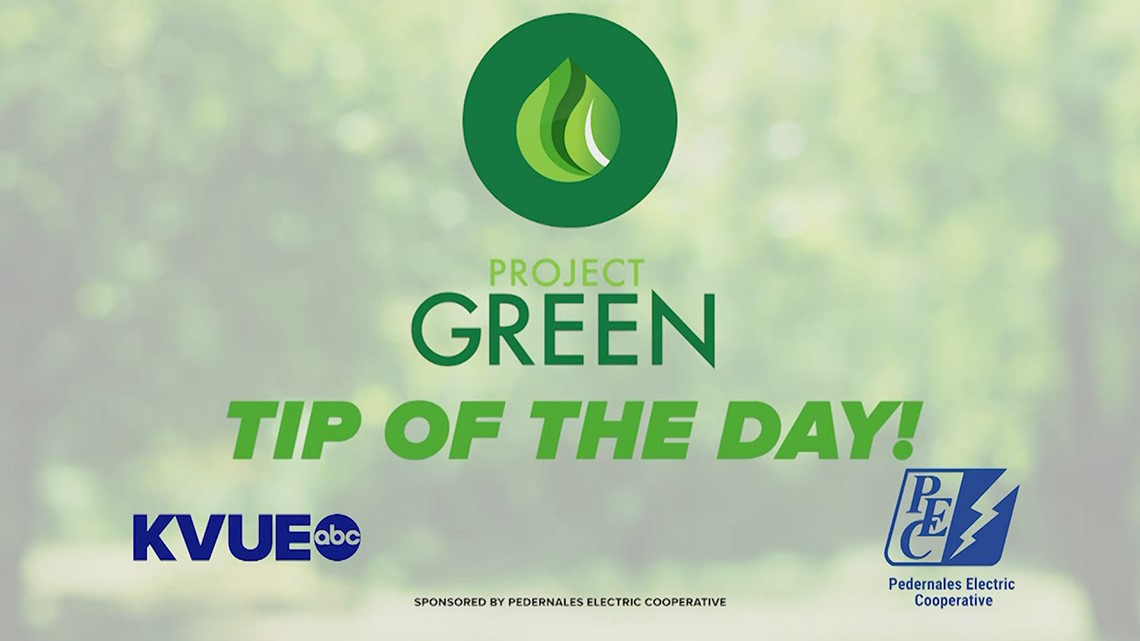 Project Green Tip: Track your usage