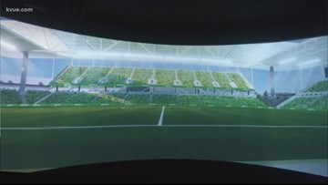 You can get a preview of Austin FC's stadium at the Austin FC Experience Center