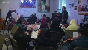 Grant supports Dobie Middle School orchestra program