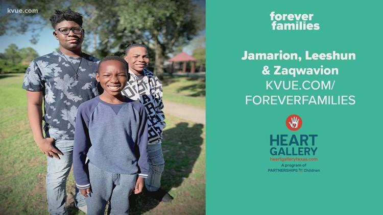 Forever Families: Meet Jamarion, Leeshun and Zaqwavion