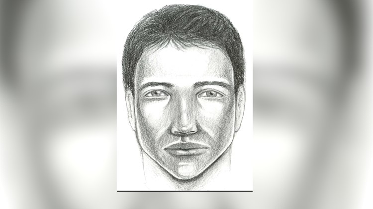 A sketch of the suspect who police believe shot and killed Roberto Reyna on July 19, 2013.