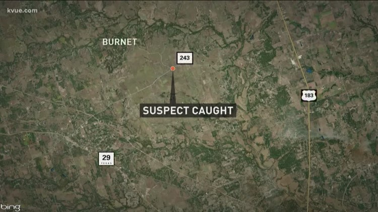 Murder suspect caught by Williamson County authorities
