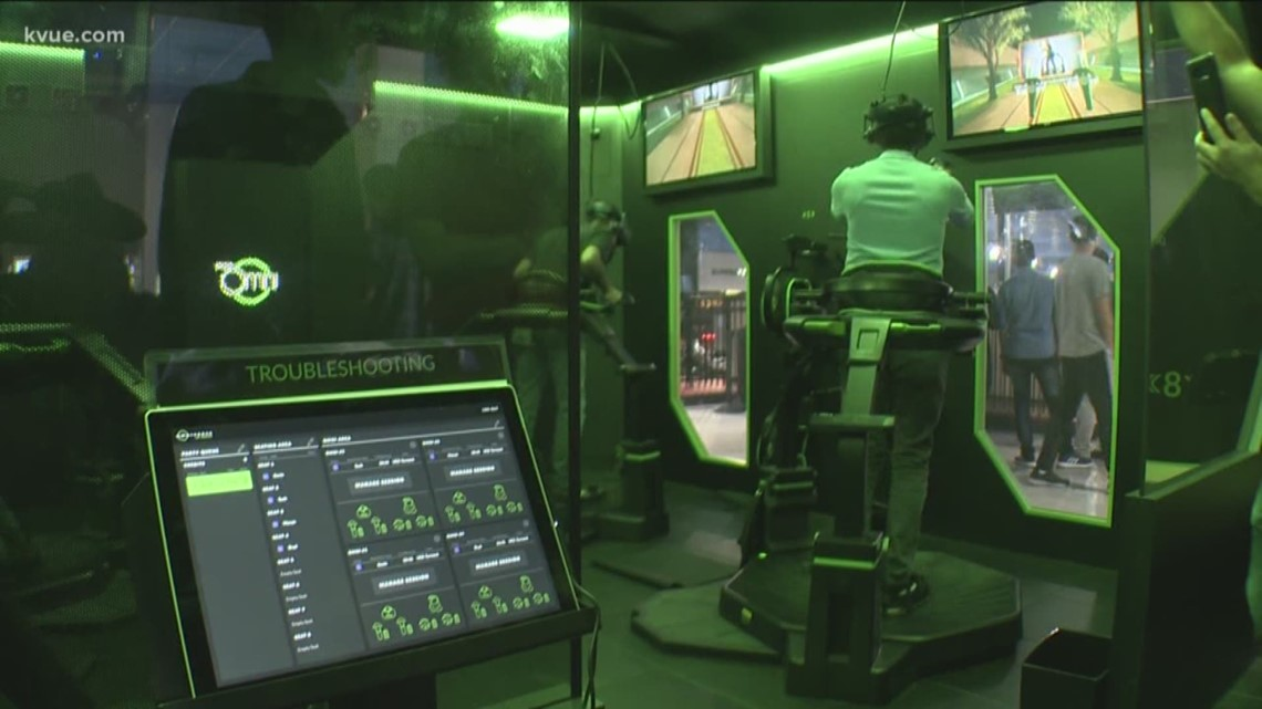 Austin VR arena puts you into the video game