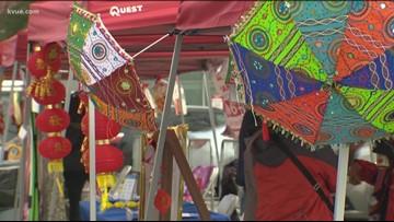 Chinatown celebration occurs on North Lamar in Austin