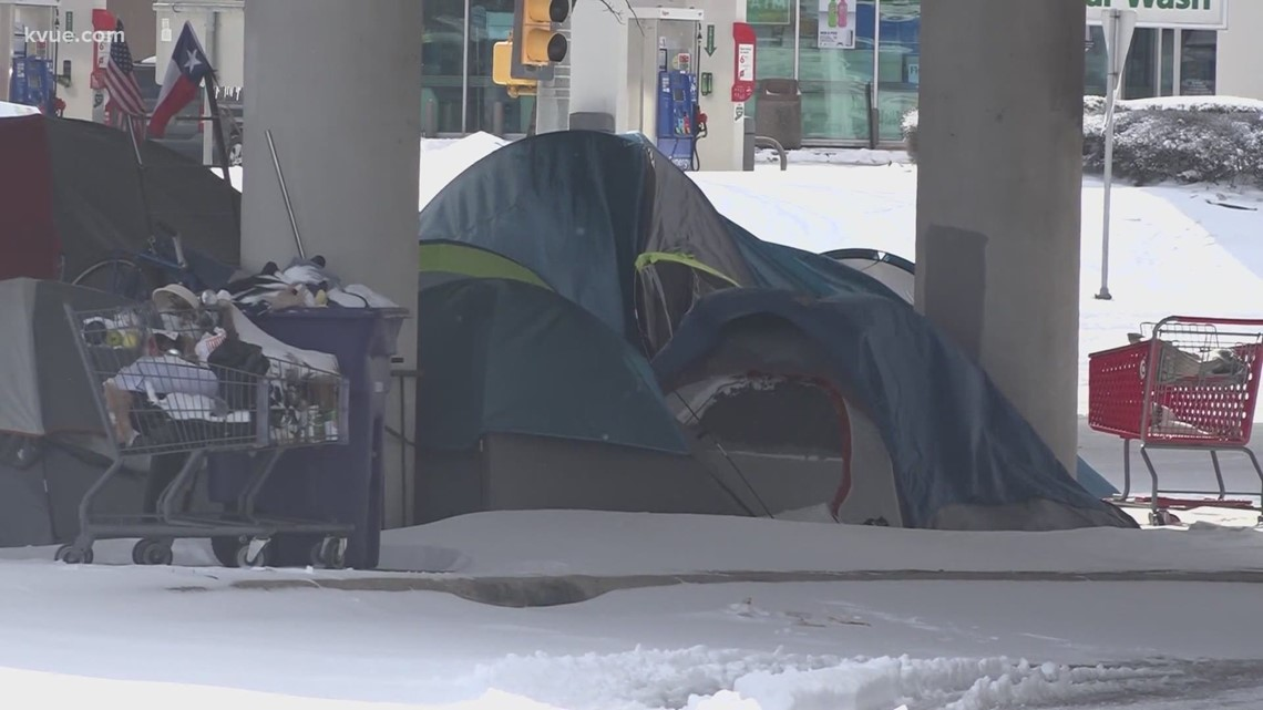 Central Texas cold snap creates dire situation for the homeless