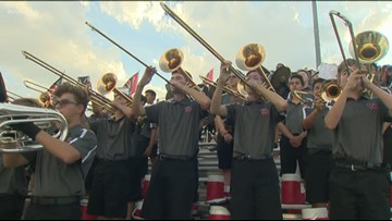 Friday Football Fever: KVUE Band of the Week -- Sept. 13