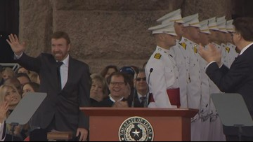 'Chuck Norris, Texas Ranger' gives 'extra security' at Greg Abbott, Dan Patrick's inauguration