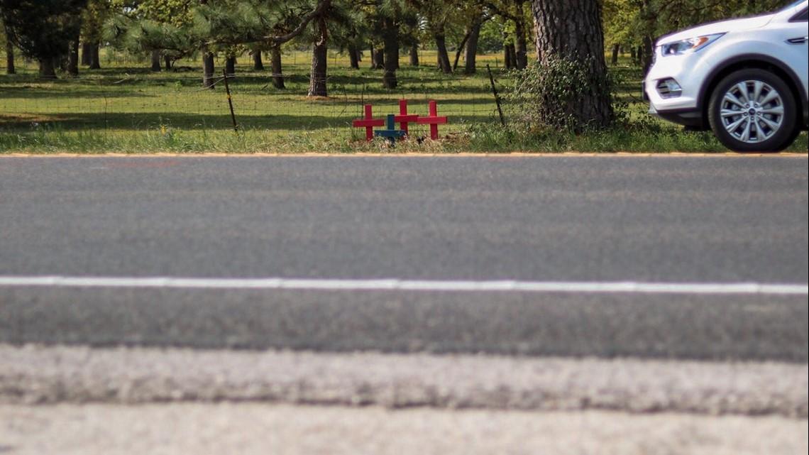 PHOTOS: Bastrop County intersection where fatal crash happened