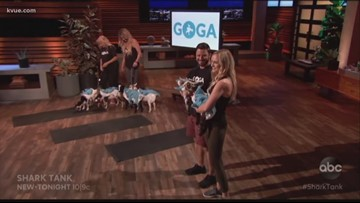Austin goat yoga studio appears on Shark Tank