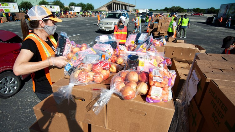 Central Texas Food Bank partnering with Austin Public Health, Amazon to deliver food to Austin-Travis County residents
