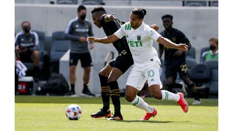 Austin FC falls to LAFC, 2-0 in MLS debut