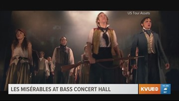 Les Misérables hit musical coming to Austin's Bass Concert Hall this weekend