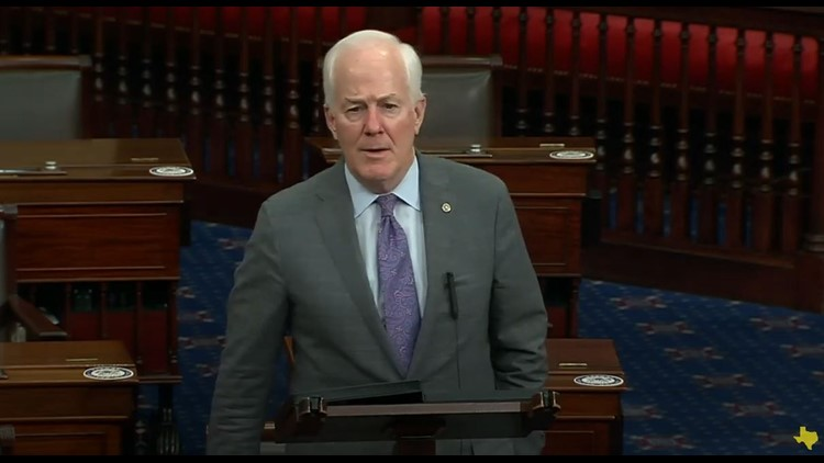 'Is he really in charge?' Cornyn criticizes 'limited' Biden tweets, gets White House response