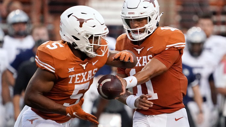 Texas runs all over Rice in 58-0 victory
