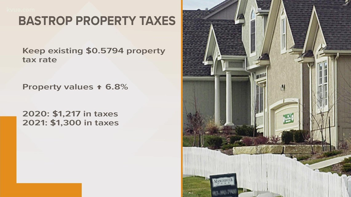 Bastrop homeowners could pay more in property taxes next year