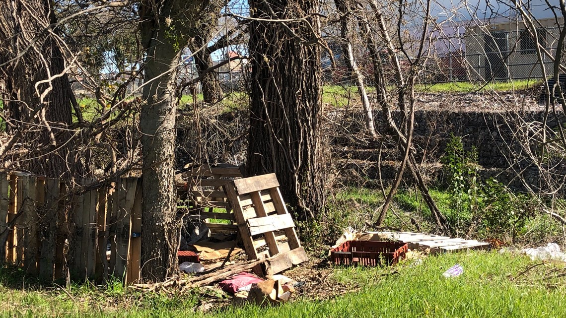 PHOTOS: KVUE uncovers Austin homeless camps undergoing cleanups by Austin Watershed