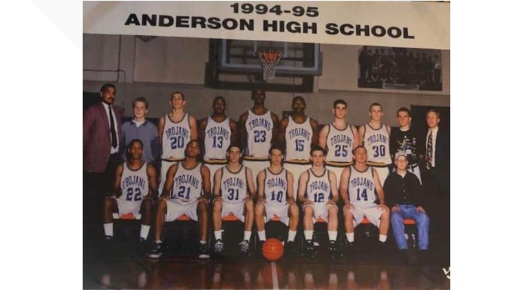 1994-95 Anderson HS basketball team