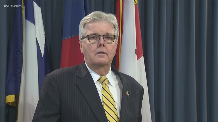 Lt. Gov. Dan Patrick responds after Texas Democrats outline issues with election reform bill