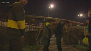 Austinites volunteer at Point in Time count