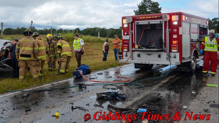 Giddings crash
