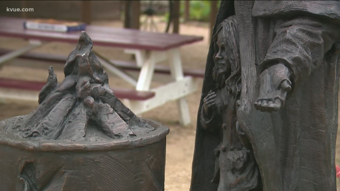 New homeless statues unveiled at Community First! Village in Austin