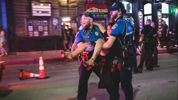 'I don't really wish this upon anyone'   Downtown Austin mass shooting victim in infamous photo re-learning to walk