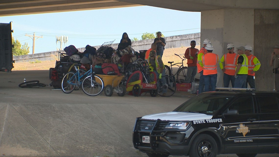 TxDOT to clean up 17 sites under Austin overpasses
