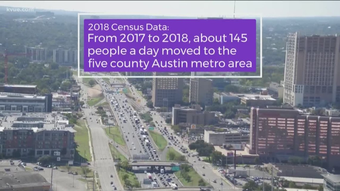 Census data: Austin's metro area is growing fast