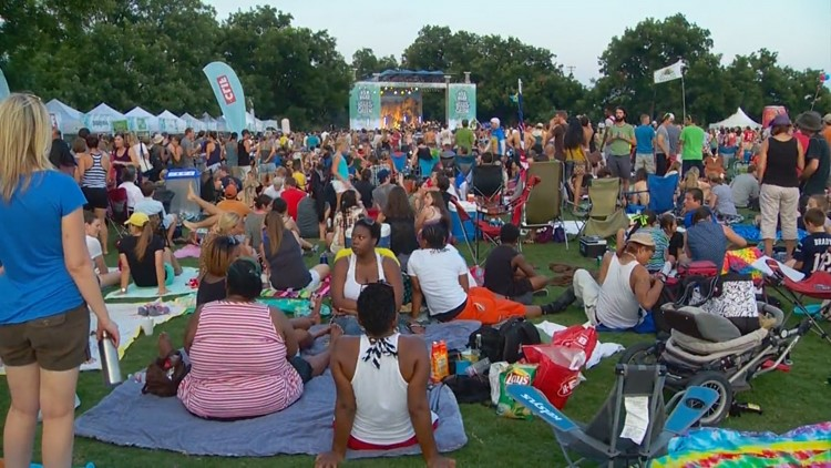 Blues on the Green returning to Zilker Park this month