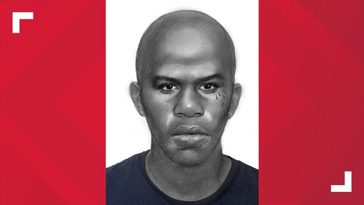 Sexual assault suspect sketch