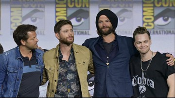 Stars share an emotional goodbye as 'Supernatural' enters final season