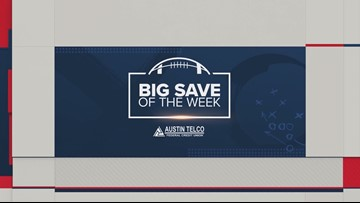 Here's the winner for KVUE's Big Save of the Week - Sept. 20