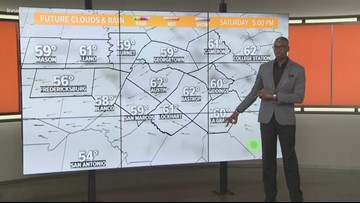 Daybreak forecast with Meteorologist Jason Mikell