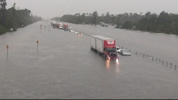 Southeast Texas communities still dealing with high floodwaters