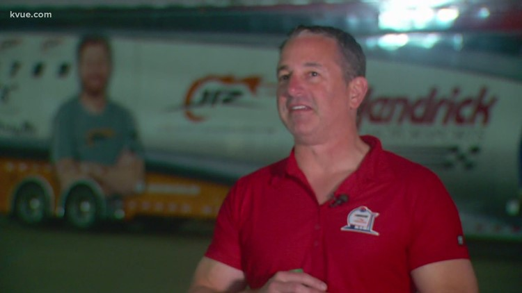 NASCAR at COTA: KVUE's Tori Larned talks with Jeff Ulrich of Speedway Motorsports