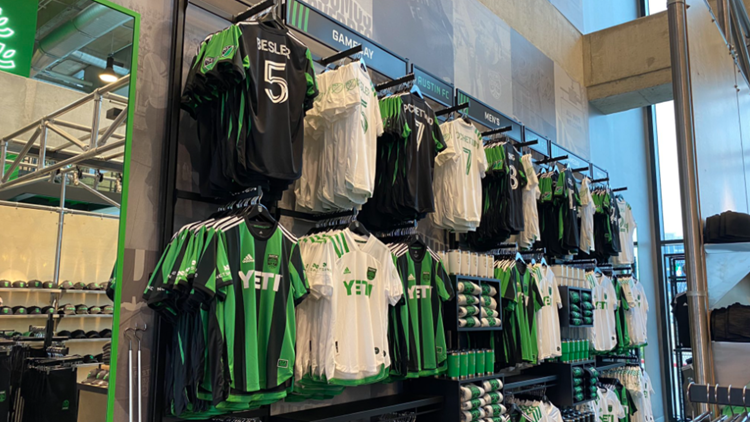 Want Austin FC merch? You can get it at The Verde Store starting Saturday