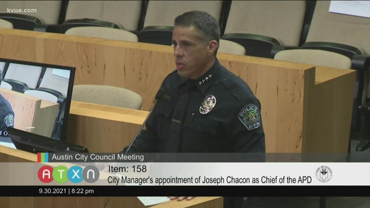 Austin City Council nearing vote confirming APD's next chief
