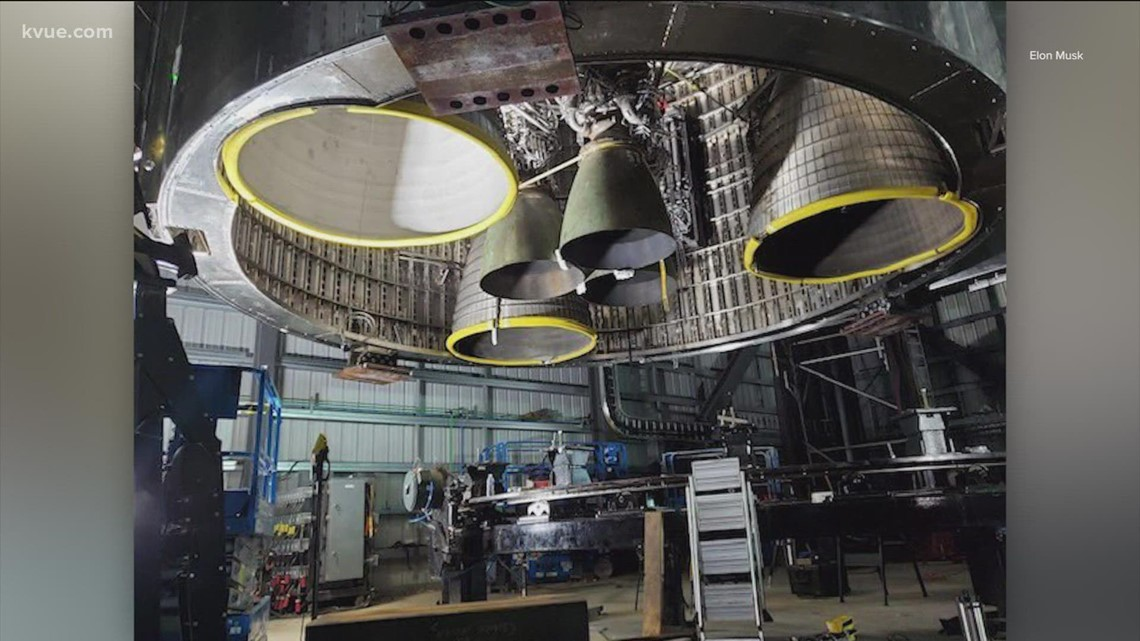 Elon Musk shows off Starbase Factory