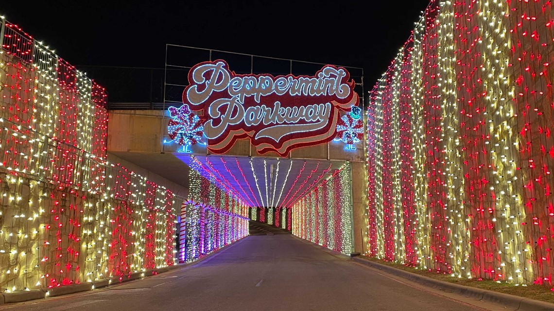 Peppermint Parkway' holiday drive-thru experience coming to COTA | kvue.com
