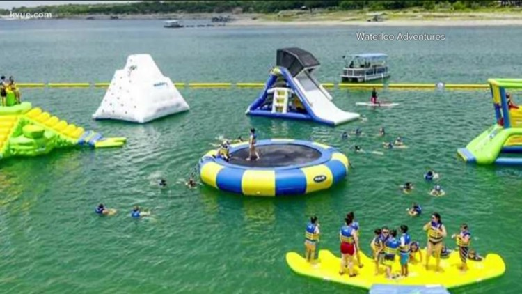 Bounce into summer at Waterloo Adventures on Lake Travis in Austin
