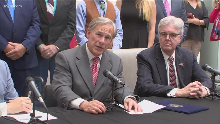 Gov. Greg Abbott puts COVID-19 vaccine mandates on third special session agenda