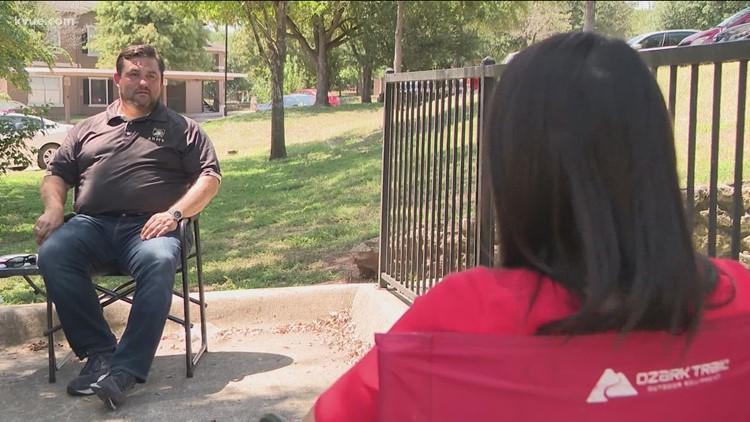 Austin man volunteering to help get people out of Afghanistan