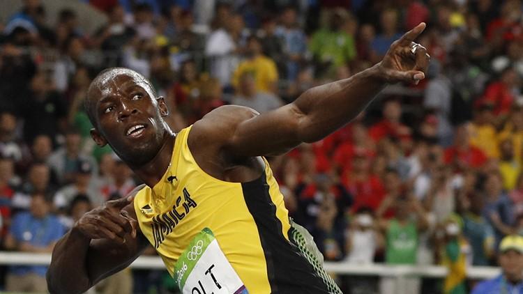 Jamaica's Usain Bolt celebrates-17715115-17715115