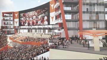 UT breaks ground at $175 million upgrade to DKR football stadium