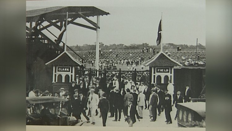Clark Field, former UT baseball stadium