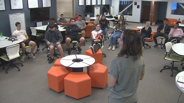 Back to Class: Vista Ridge High School incubator program teaching business skills