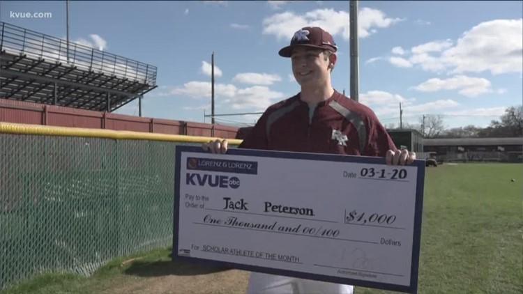 KVUE Scholar Athlete of the Month: Round Rock's Jack Peterson