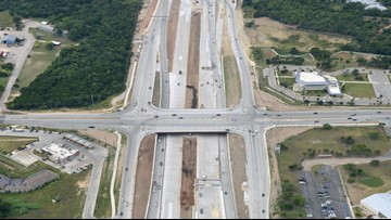 Phase 1: Toll road opens on north end of 183 South Project